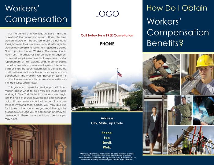 marketing brochures lawyers attorneys