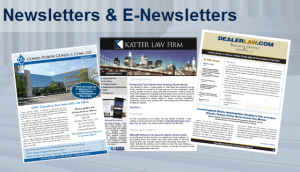 Newsletters and E-newsletters