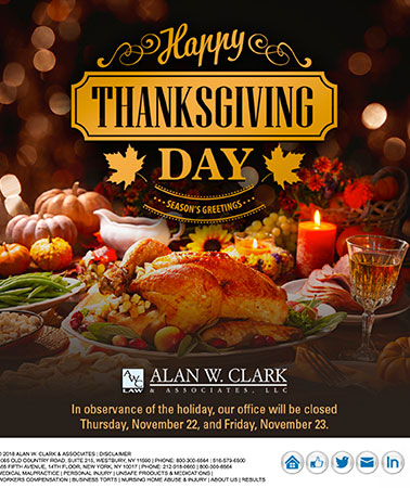 Alan W. Clark: Thanksgiving Email