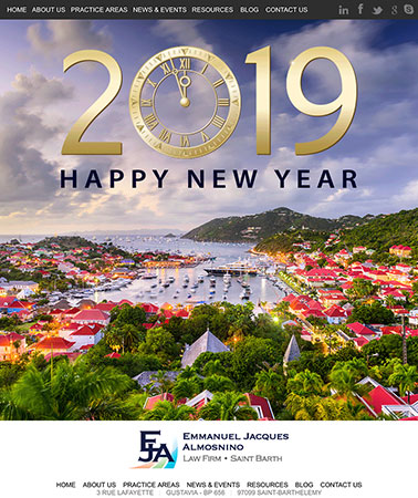 EJA Law: New Years Email