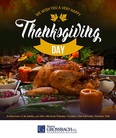 Martin Grossbach: Thanksgiving Email