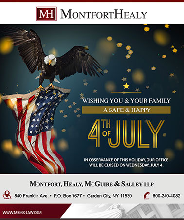 MontfortHealy: 4th of July Email