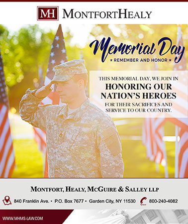 MontfortHealy: Memorial Day Email
