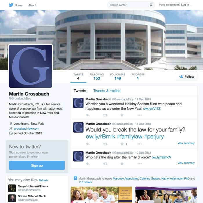 Martin Grossbach Twitter Page