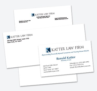 Katter Law Firm: Stationery