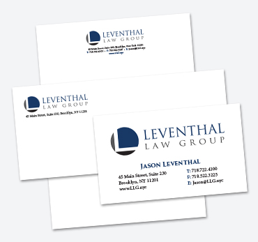 Leventhal Law Group: Stationery
